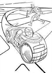Free Tron Coloring Pages With Images