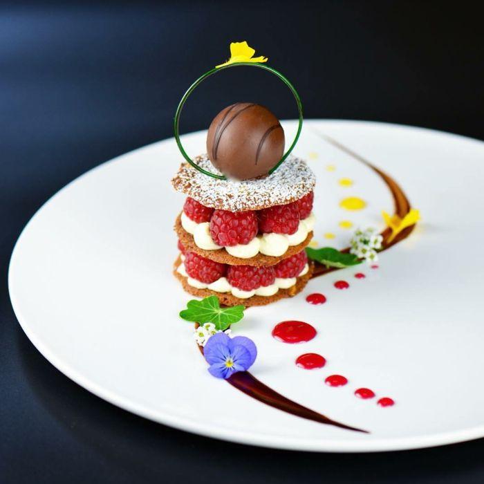Fabuleux ▷1001+ idées comment présenter un assiette dessert individuel  NC71