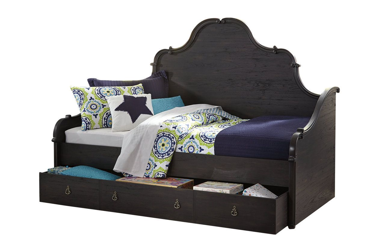 Corilyn Twin Day Bed With Trundle Storage Ashley Furniture