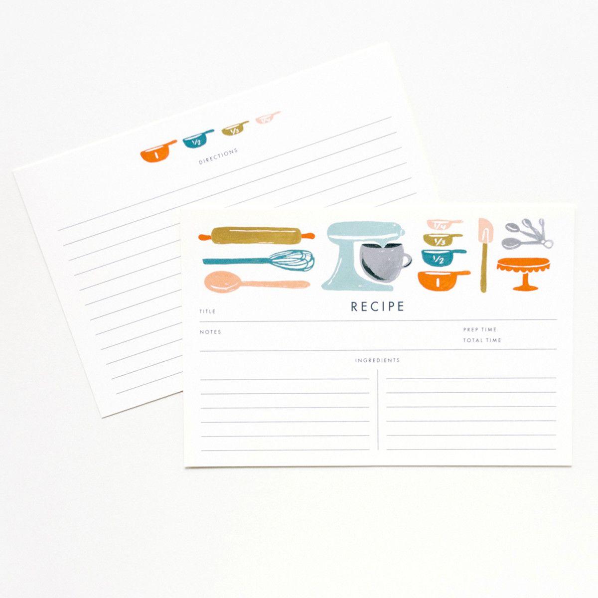 cute recipe cards | Imprimibles | Pinterest | Recetario, Ideas de ...