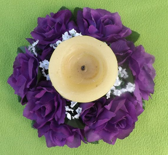 Mira este artículo en mi tienda de Etsy: https://www.etsy.com/listing/236036640/candle-ring-6-royal-for-wedding