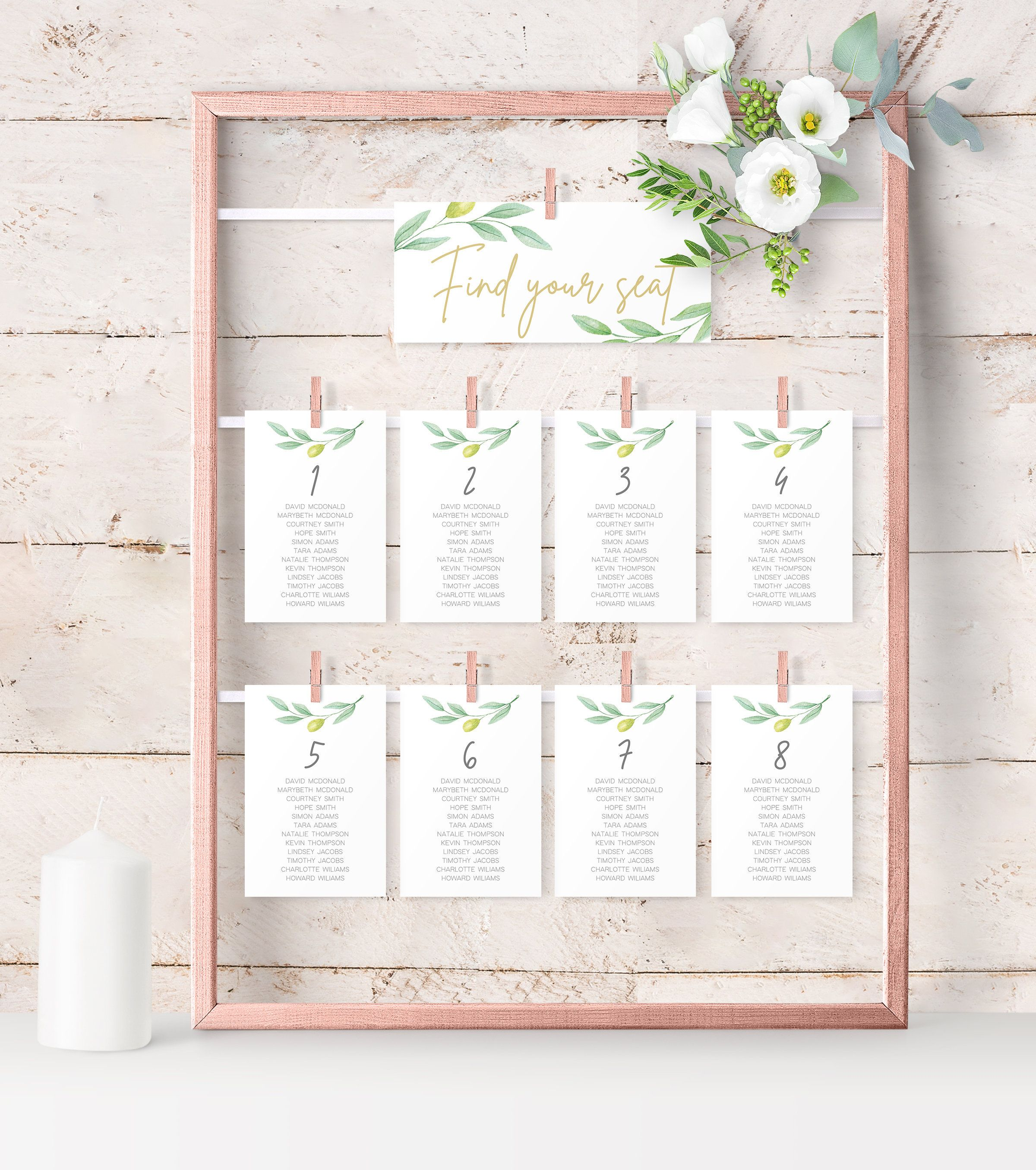 Wedding Seating Chart Template Try Before You Buy Printable Etsy Seating Chart Wedding Template Seating Chart Wedding Seating Chart Template
