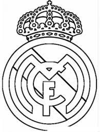 Resultado De Imagen Para Logo De Real Madrid Para Colorear Dibujos Para Colorear Colores Dibujos