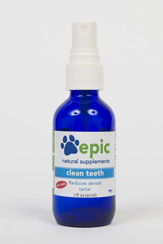 Clean teeth natural electrolyte odorless pet