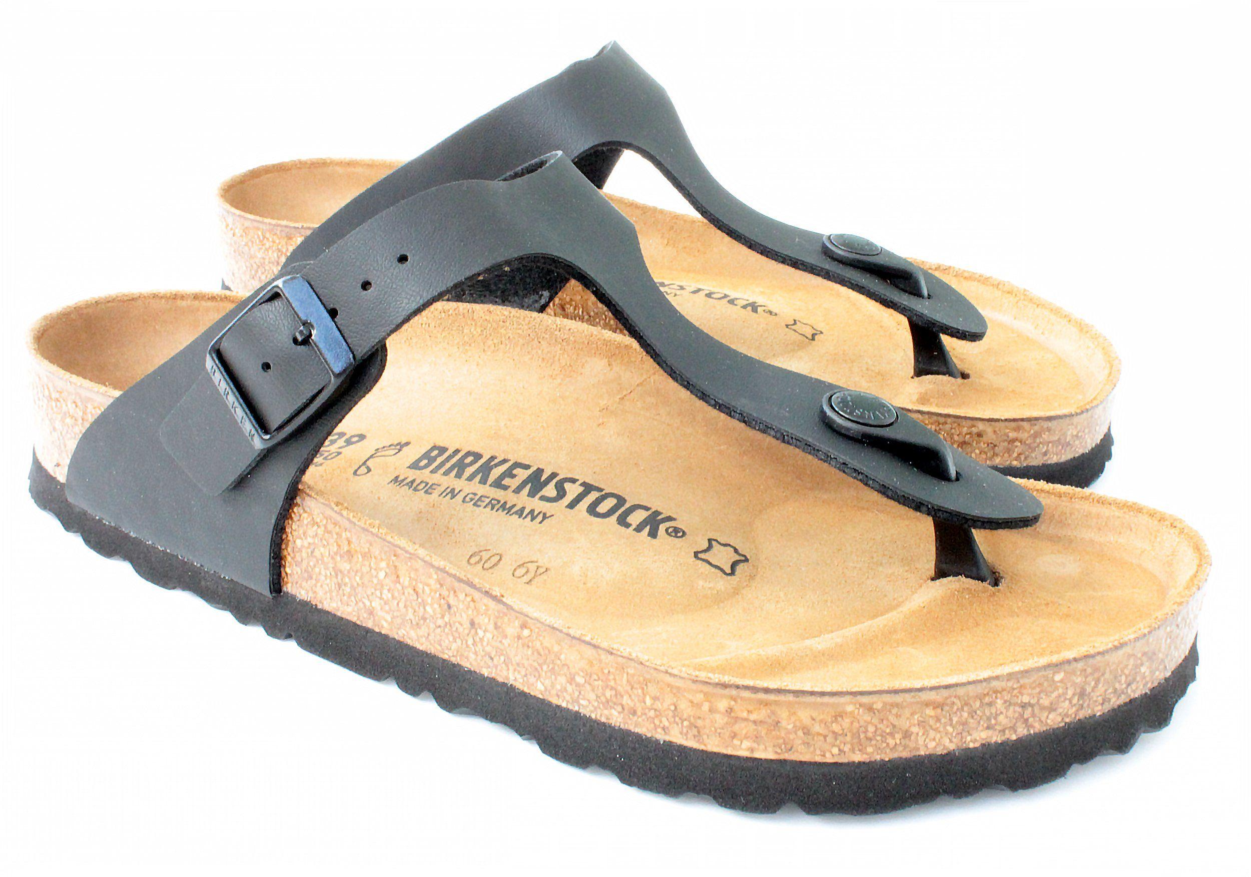 e1cfdf397d0 Birkenstock Stylish  Gizeh  Birko-Flor Women s Thong Sandals