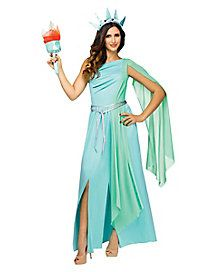 d2ceaeda16b Adult Lady Liberty Costume