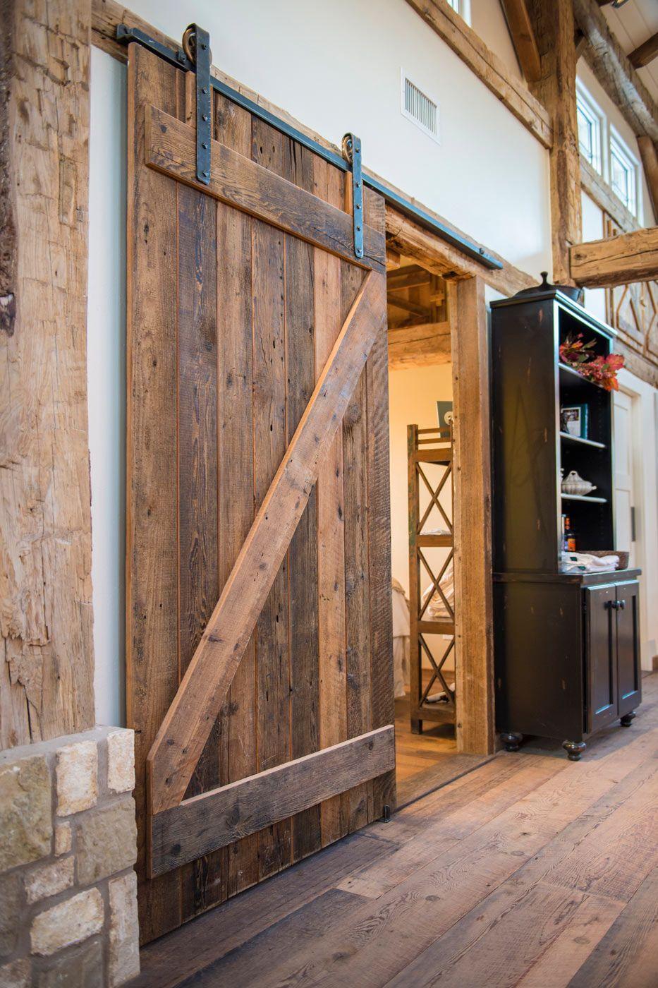 Classic Sliding Barn Door Heritage Restoration Rustic