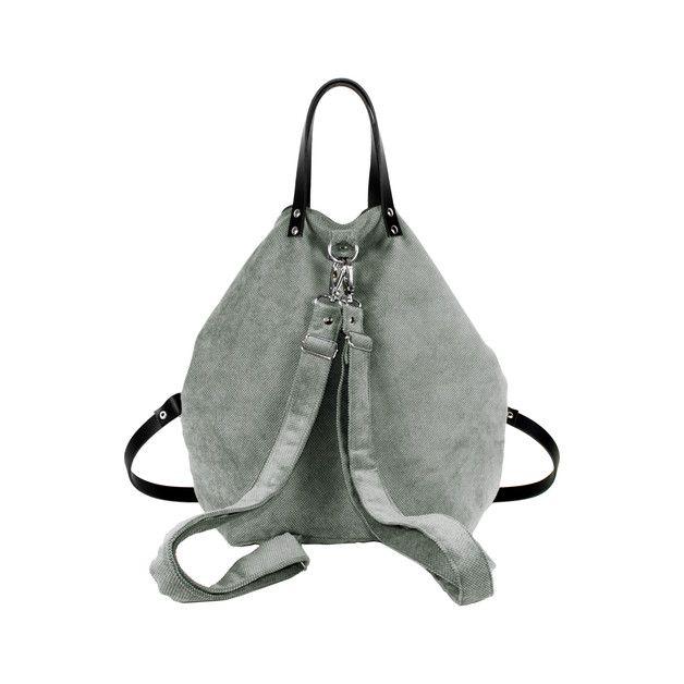 Rucksack-Tasche Mode-Tasche aus mattem Gewebe mit einem ...