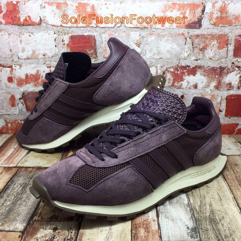 4e2b12d9bd99 adidas Originals Mens FORMEL 1 Trainers Purple sz 8 Racing Sneakers US 8.5  EU 42