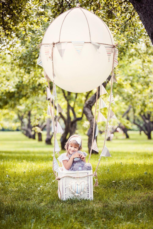 радостью как сделать воздушный шар для фотосессии данный