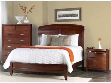 Shop For Modus Low Profile Sleigh Bed, BR15L7, And Other Bedroom Beds At  Simpson