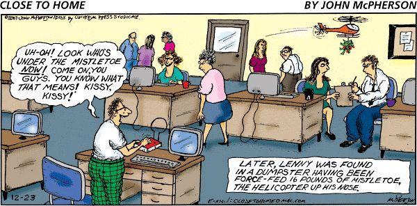 Office Humor Around The Holidays Christmas Comics Office Humor Office Cartoon