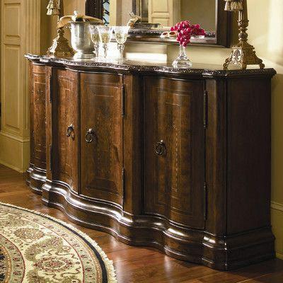 Universal Furniture Bolero Castile Credenza Reviews Wayfair