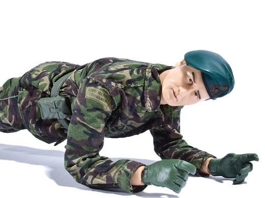 Military fitness training for cyclists