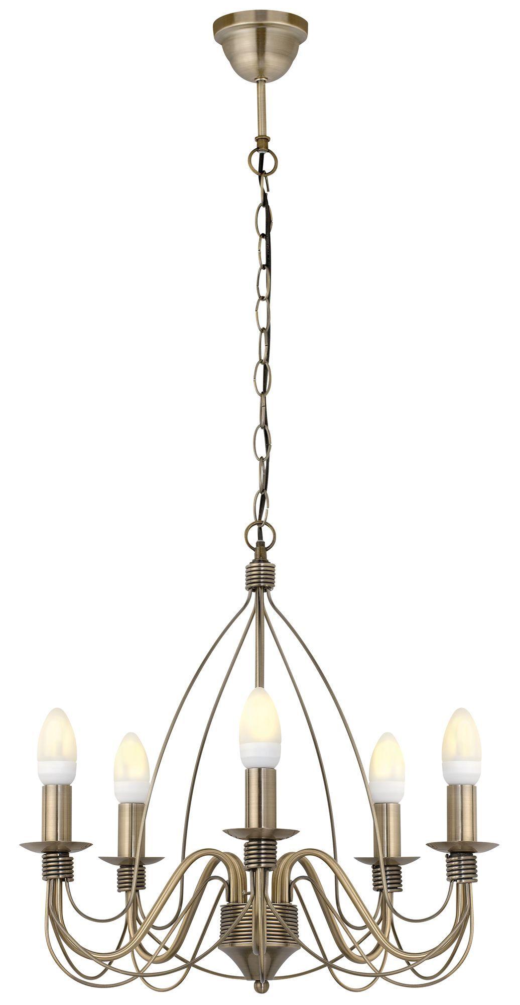 Vas Birdcage 5 Lamp Pendant Ceiling Light | Ceiling, Living room ...
