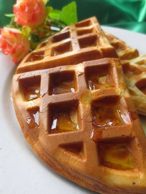 Jalan Makan Resepi Waffle Yang Gebu Sedap Resepi Martha Stewart Waffles Recipes Food