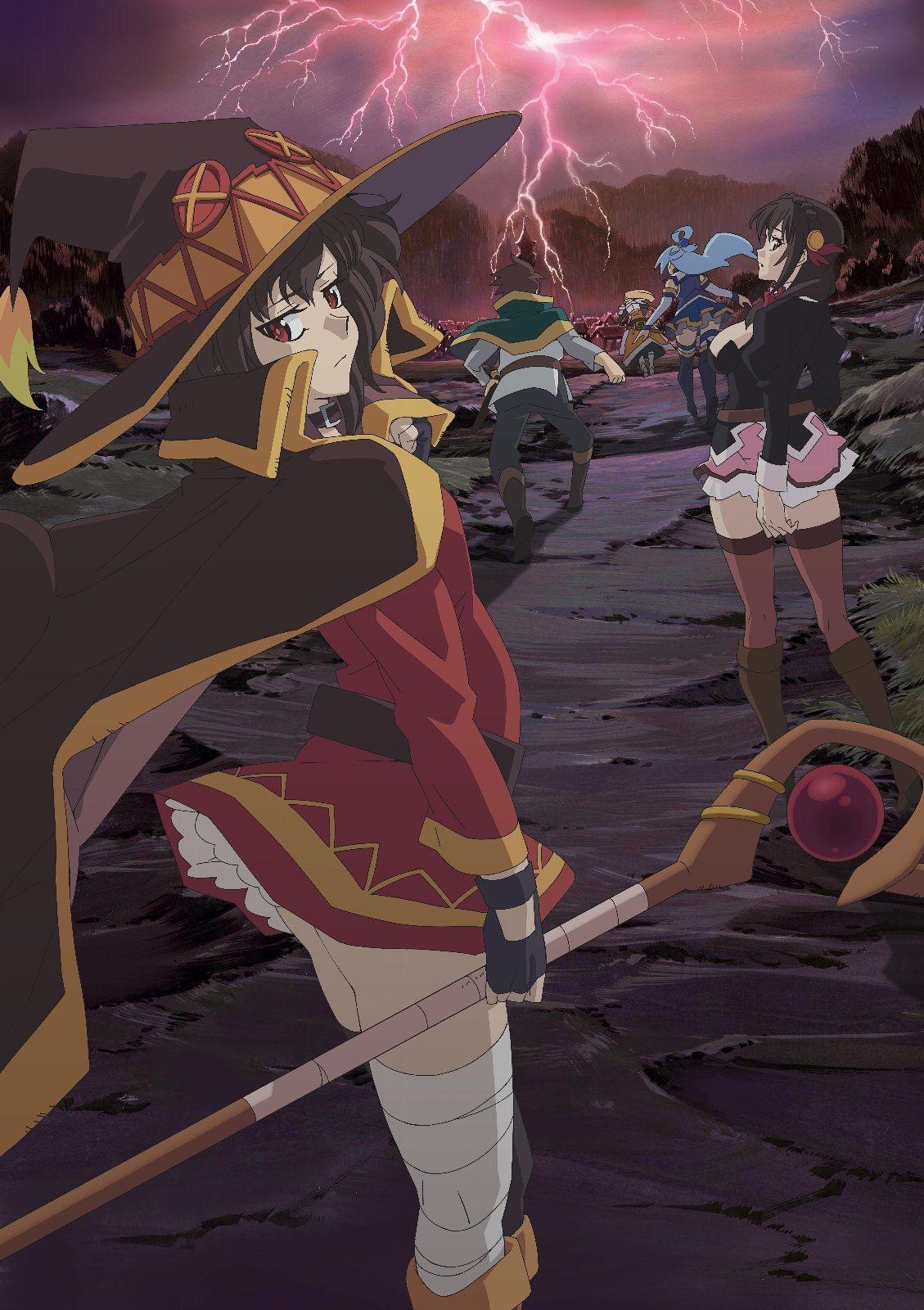 Konosuba Anime Films Anime Movies Anime