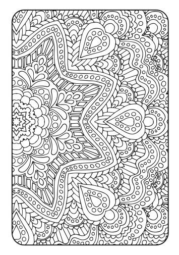 Adult Coloring Book Art Therapy Volume 2 Printable Pdf Coloring