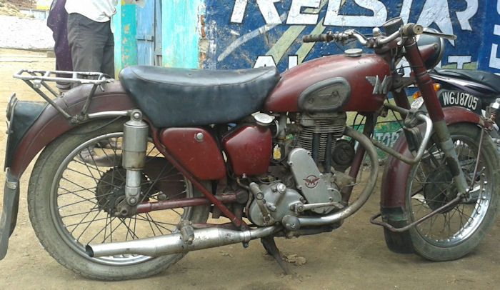 Motorcycle Picture Of A 1951 Matchless G3ls 350cc With Images