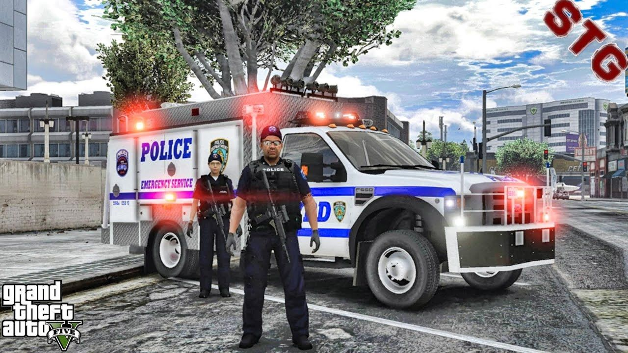 Nypd Esu Swat Patrol 112 Gta 5 Real Life Pc Police Mod In