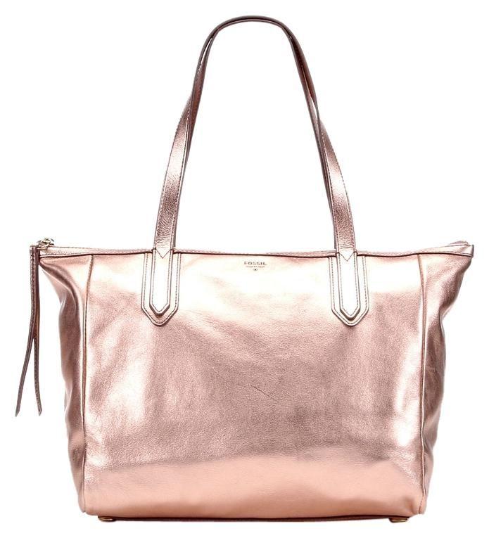 8b20907f16b Sydney Shopper Metalic Rose Gold Leather Tote | Rose Gold~~My New ...