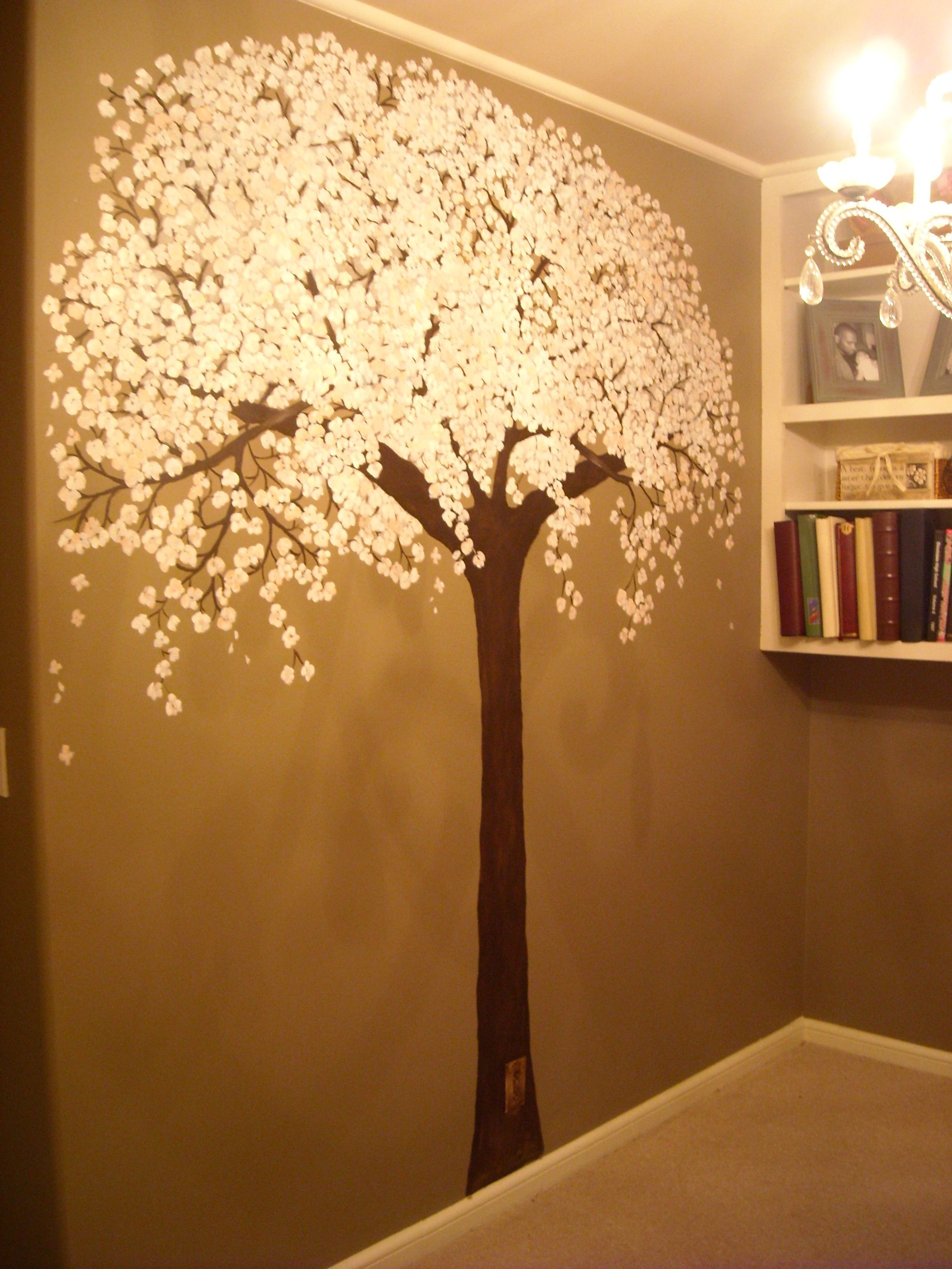 Cherry tree mural wall murals murals ideas pinterest for Cherry tree wall mural
