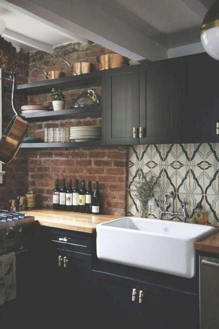 - 67+ Cool Modern Farmhouse Kitchen Sink Decor Ideas #kitchendesign