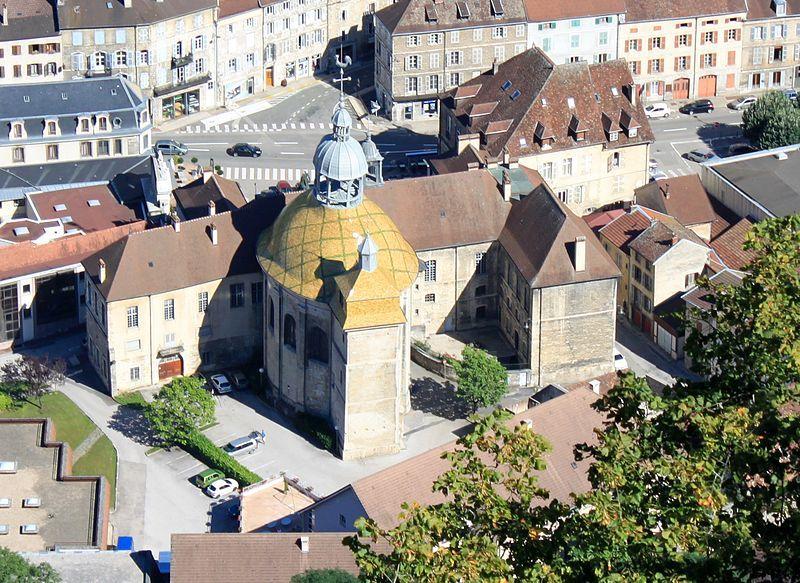 Salins Les Bains Jura Franche Comte France Notre Dame Liberatrice
