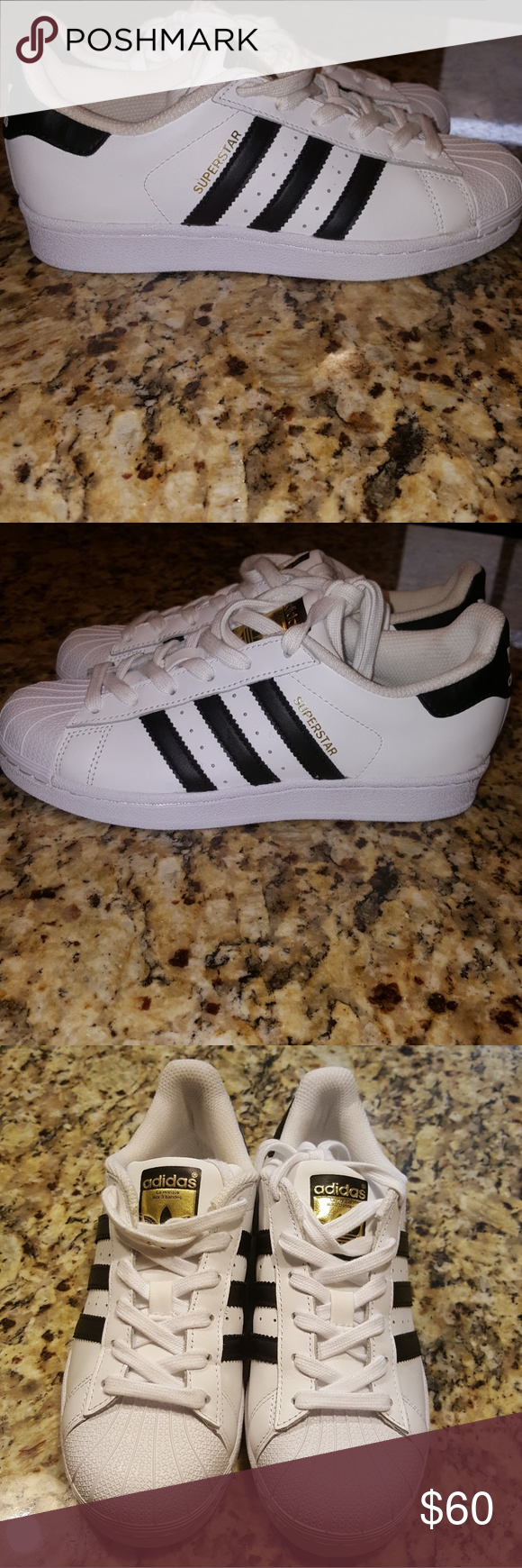 ADIDAS SUPERSTAR UNISEX (W5) First introduced in 1969. this iconic basketball shoe (now updated with sleeked-dow… | Adidas superstar. Sporty ...