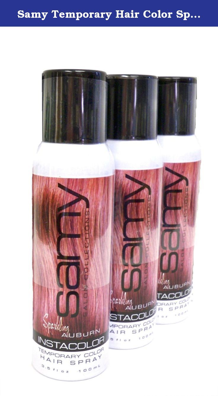 Samy Temporary Hair Color Spray Shampoos Out Buy 3 For Less Than