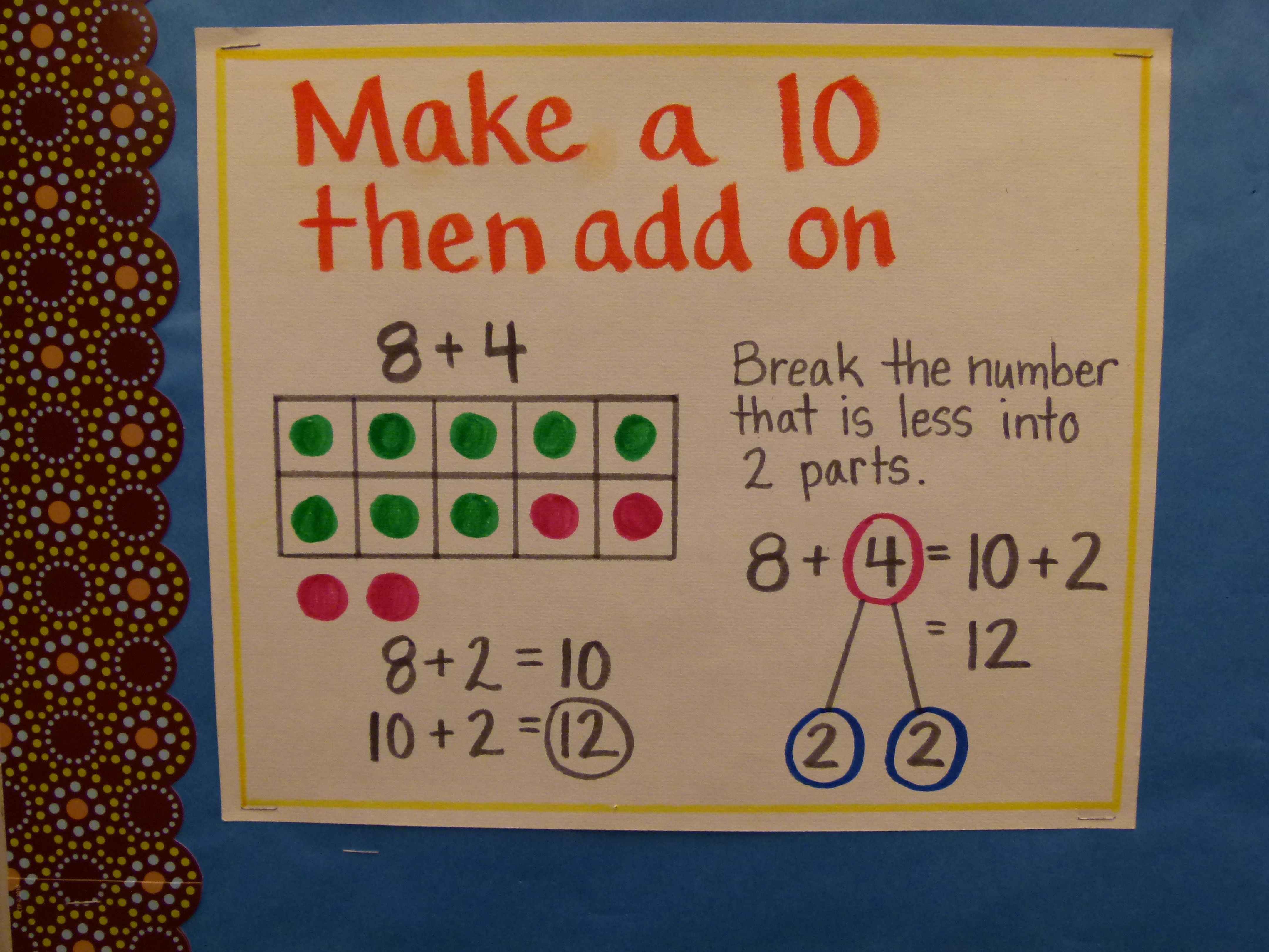 Make A Ten Then Add On
