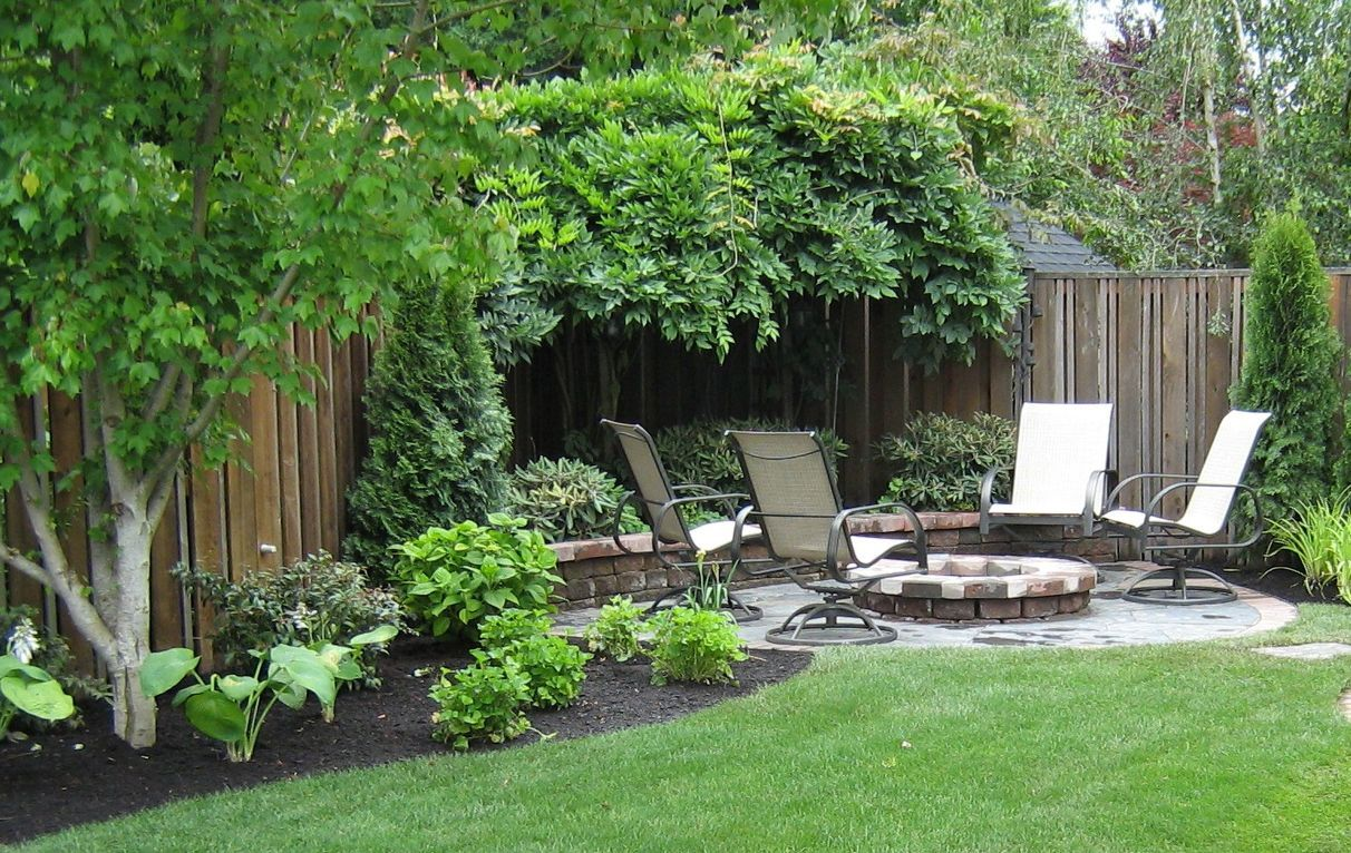 Elegant Small Backyard Patio Landscape Designs For Your Home