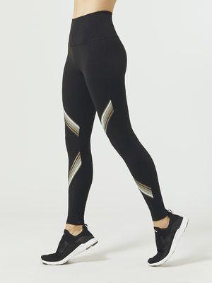 3dbffaa22f BEYOND YOGA Get Your Filament High Waisted Long Legging Jet black LEGGINGS