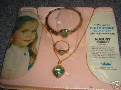 12++ Childrens birthstone jewelry sets information
