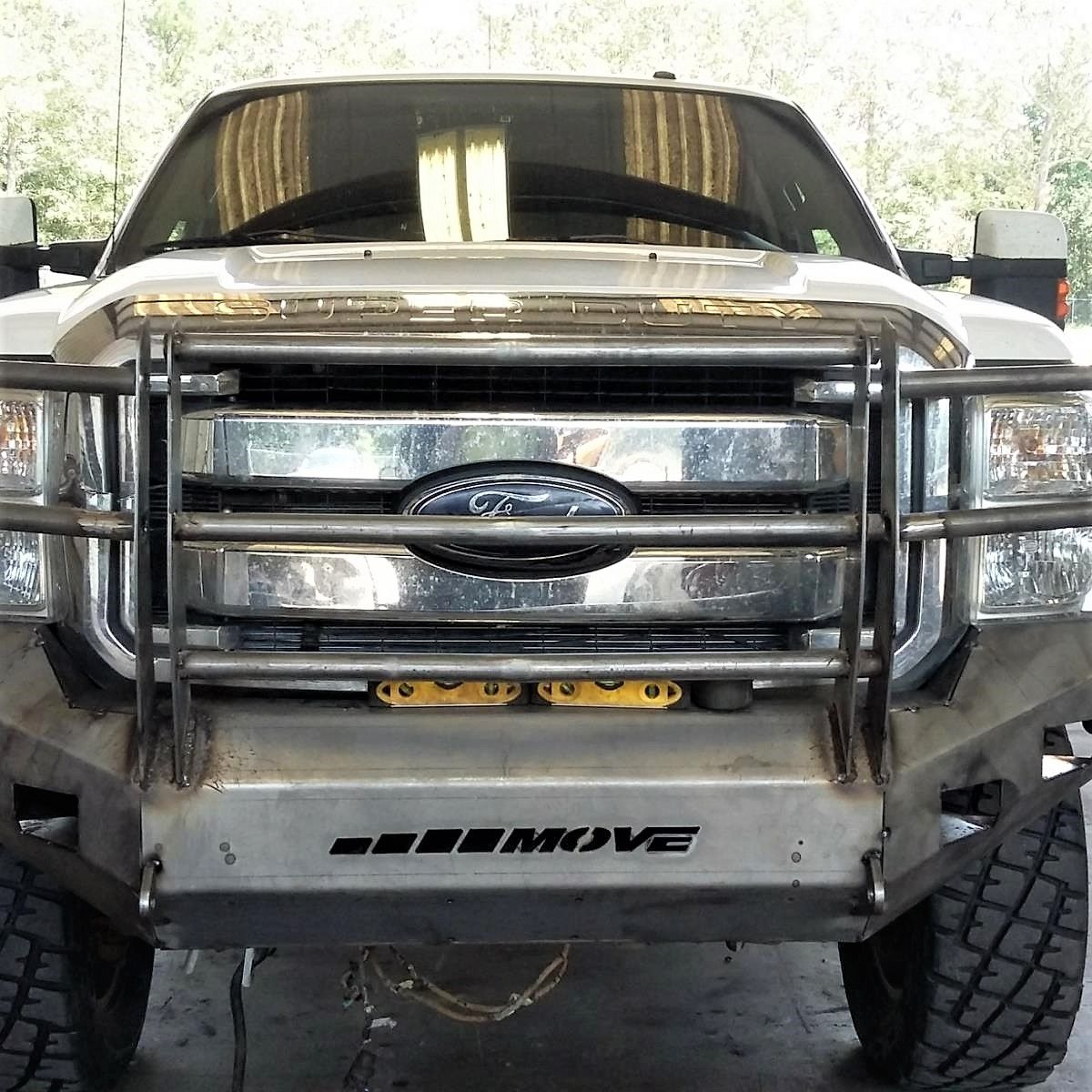 Customizable Wiy Front Standard Ford F250 F350 2011 2016 Truck 1830 Move Bumpers Work Truck Truck Bumpers Farm Trucks