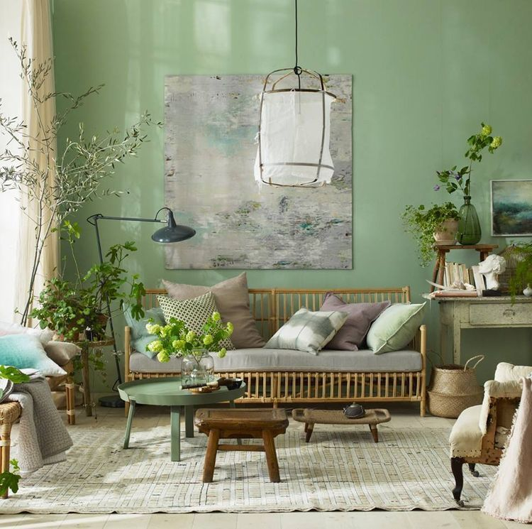 Mint Wandfarbe: Pin By Kimiaafa On Interior Design Ideas