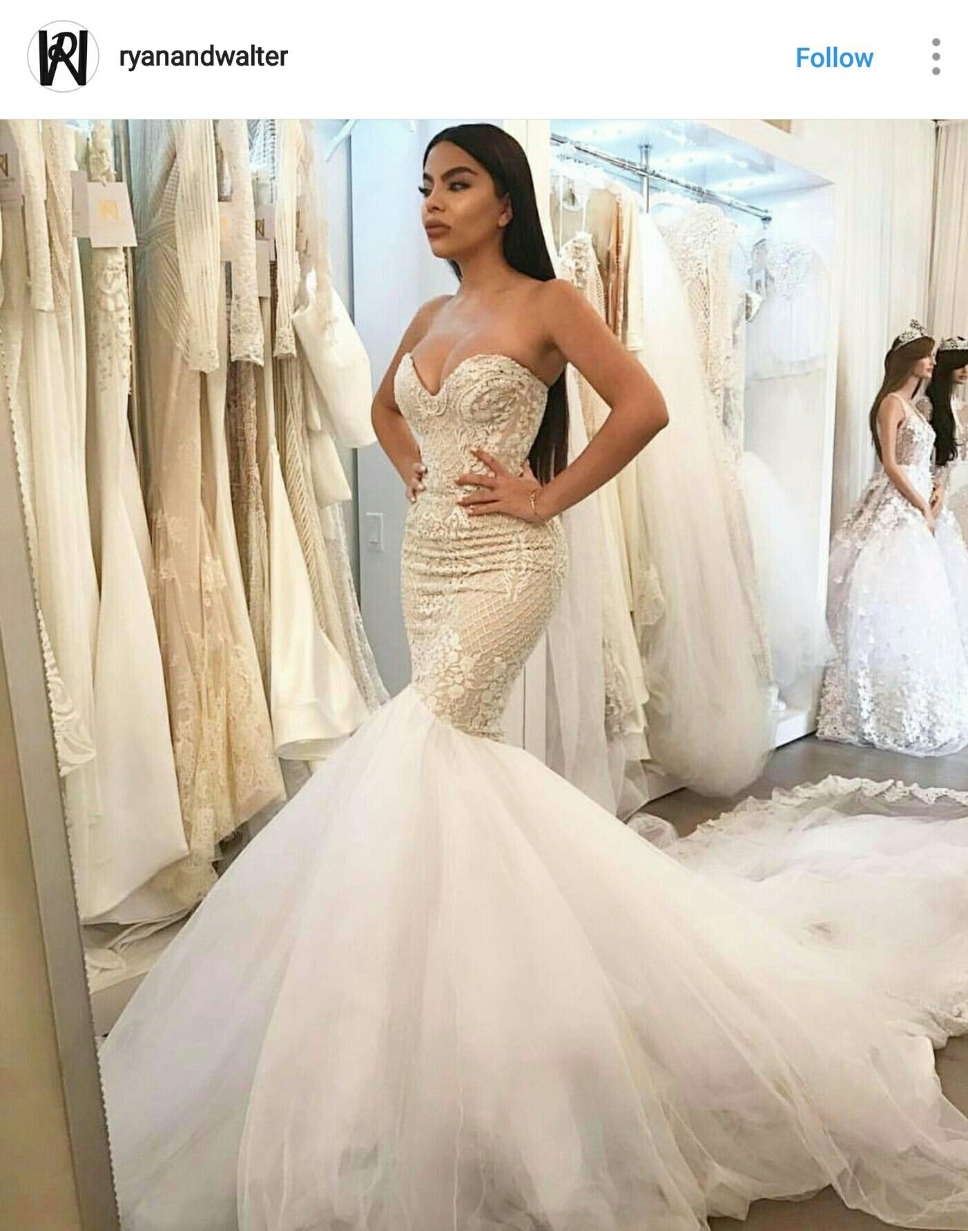 Ryan and Walter. This is one of the most beautiful wedding gowns I ...