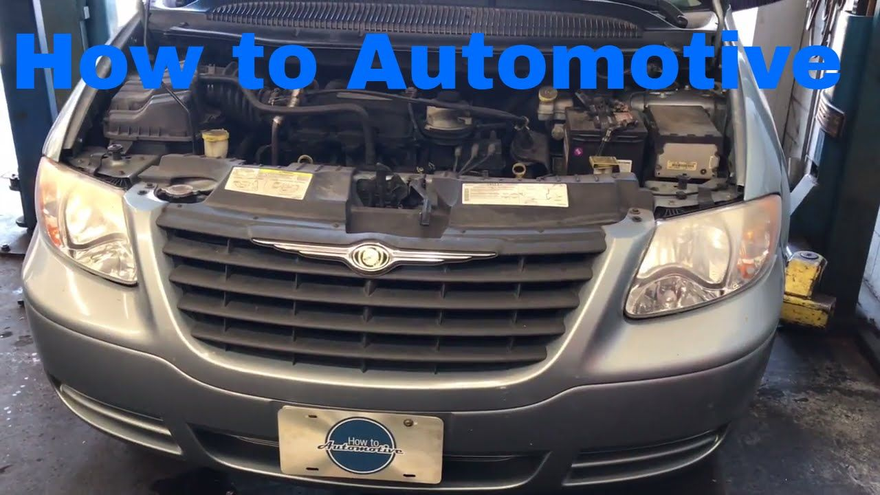 How To Replace The Alternator On A 2001 2007 Dodge Caravan