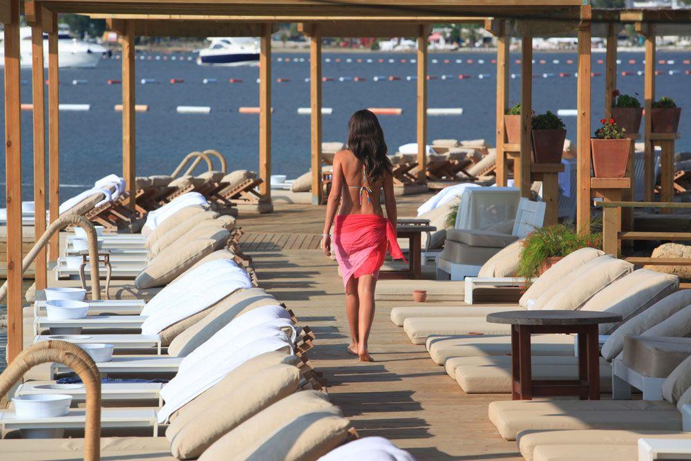 Macakizi hotel beach club in bodrum