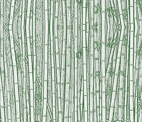 Colorful Fabrics Digitally Printed By Spoonflower Green Bamboo