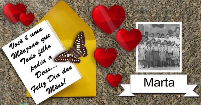 Cartinha em Homenagem ao Dia das Maes. escolha para qual Amiga quer Mandar!