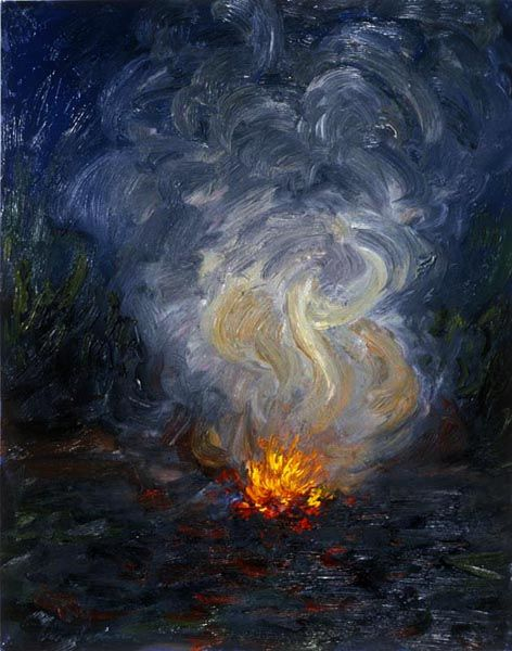 campfire painting - Google Search | art | Pinterest ... Campfire Painting