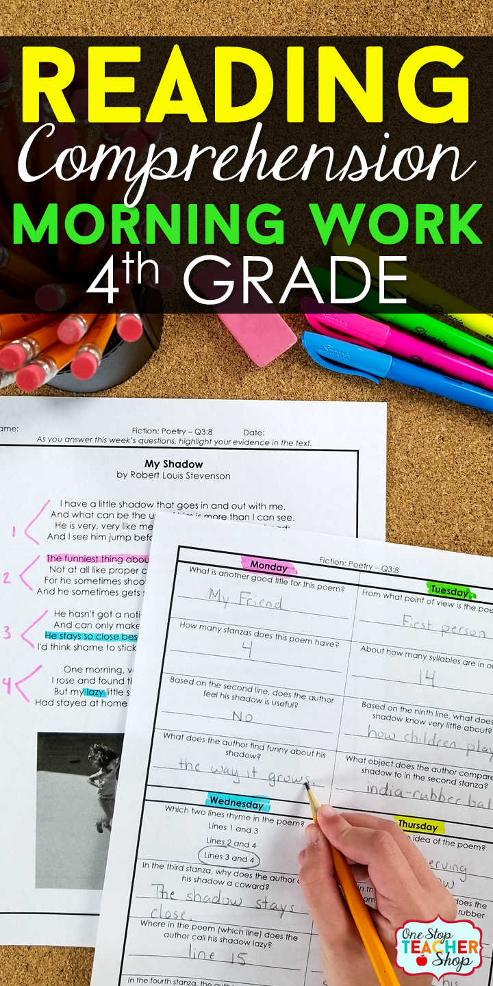 4th Grade Reading Comprehension Daily Practice To Cover The Entire Year Of Fourth Grade R Reading Comprehension Practice Reading Homework Reading Comprehension [ 1440 x 720 Pixel ]