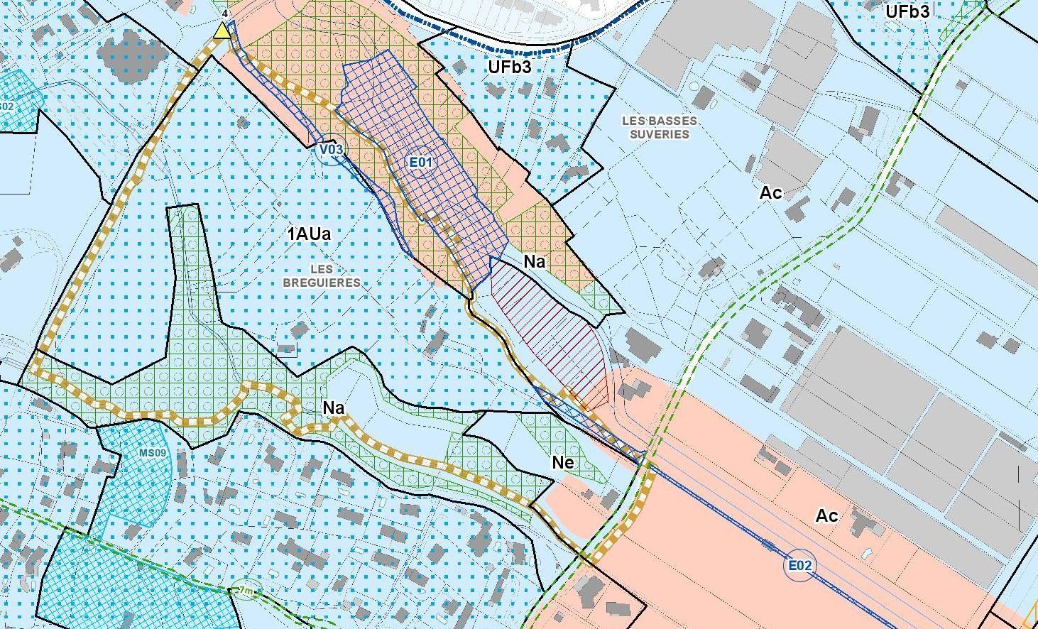 Zone-1AUa-Les Bréguières, 06610, Gattieres -PLUmMnca20191025