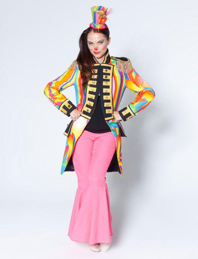 Zirkus Jacke für Damen (bunt) für Karneval kaufen | Deiters