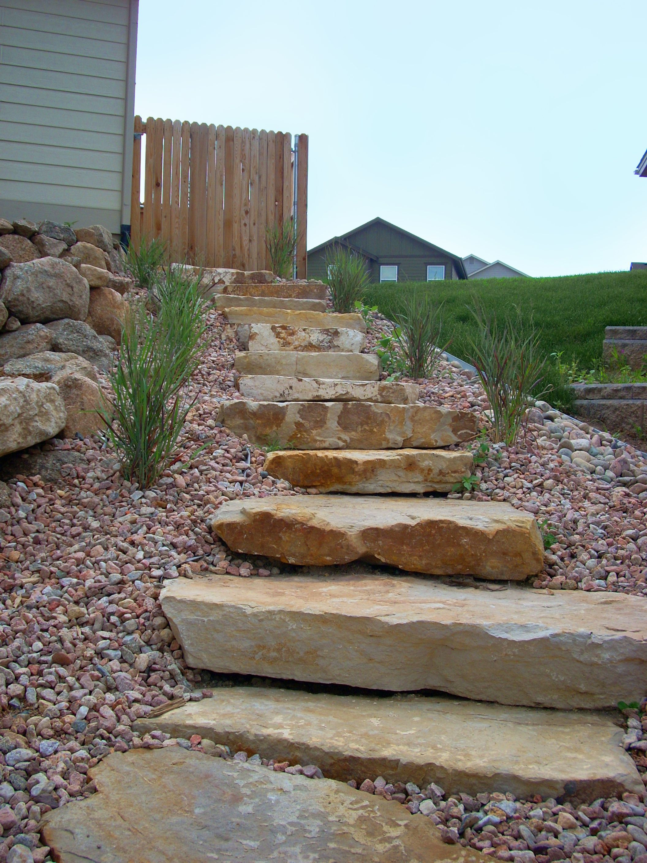 Siloam Stone Stairs Landscape Features Stone Stairs
