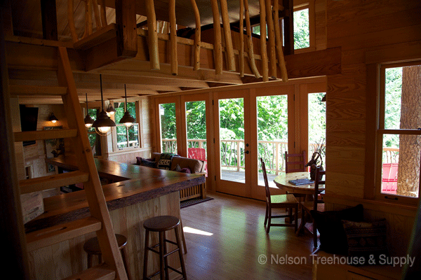 treehouse point fall city washington | Nelson Treehouse and Supply: Portfolio of residential treehouses ...