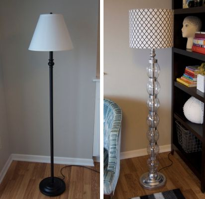 Floor Lamp Makeover Addicted 2 Decorating Floor Lamp Makeover Lamp Makeover Floor Lamp