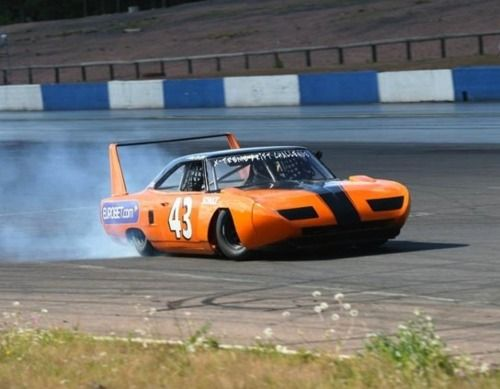 Classic drift superbird? #hemi #nascar #mopar