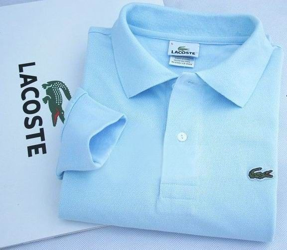 Lacoste Long Sleeve Classic Polo Shirts in Light Blue $32.19 ...